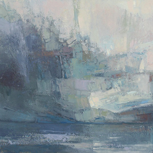 Kathleen Galligan, Glacial Abstract #1