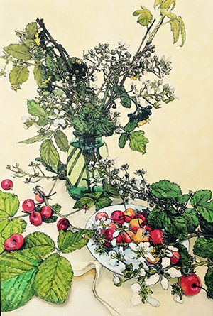 Amy Pollien, Blackberry Branches