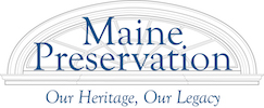 Maine Preservation logo