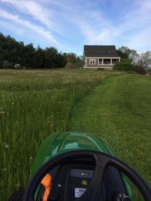 The First Mow of Spring