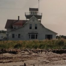 Popham Beach Old Coast Guard Station