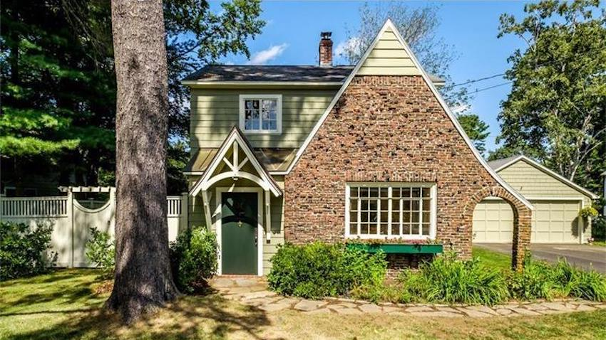 Tudor revival home for sale fairytale find maine homes for Tudor style house for sale