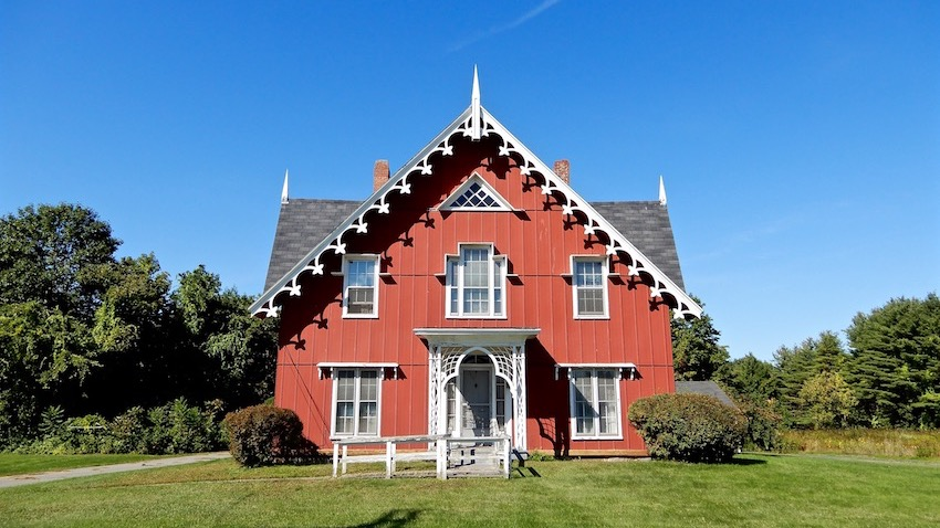 Carpenter Gothic Home