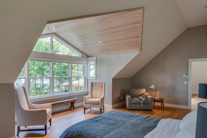 Sebago Lake Home Bedroom