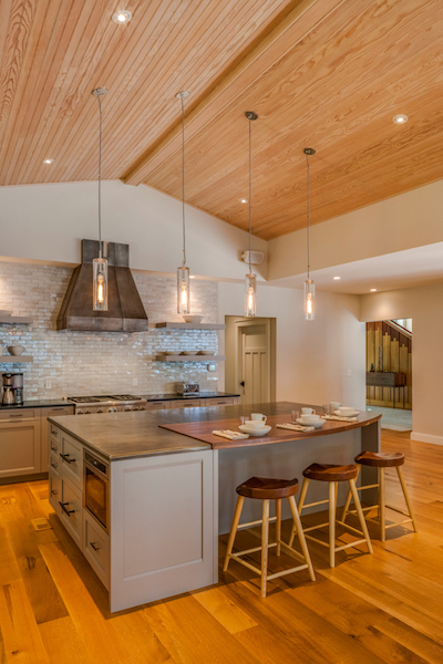 Sebago Lake House Kitchen