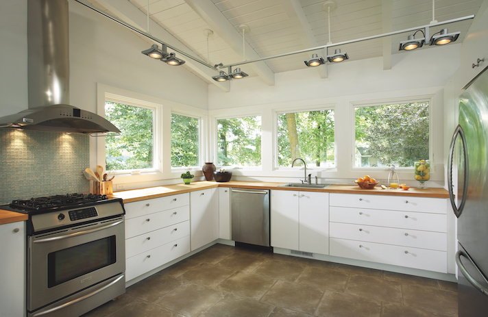 Kitchen with Marvin Windows