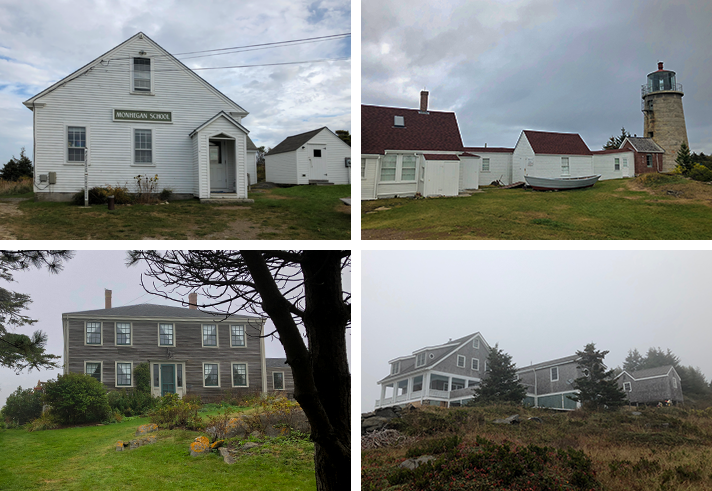 Monhegan Island buildings
