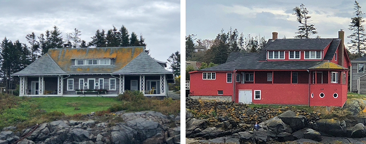 Monhegan Island Houses