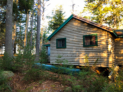 Toddy Pond cabin
