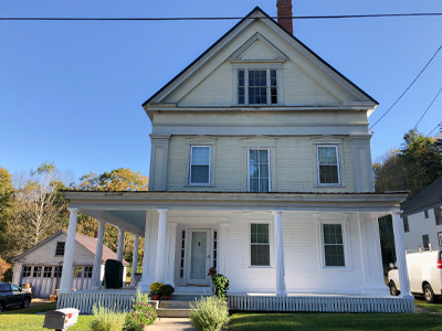 Cornish Greek Revival House
