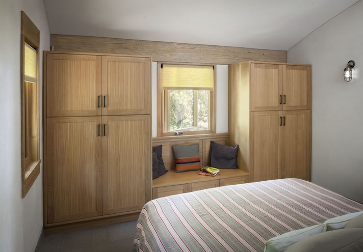 Sebago Lake Cabin Bedroom