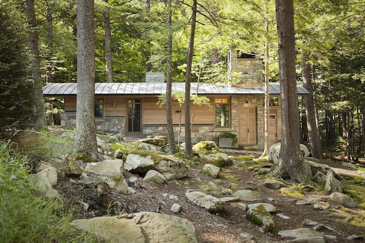 Sebago Lake Cabins The Art Of The Family Compound