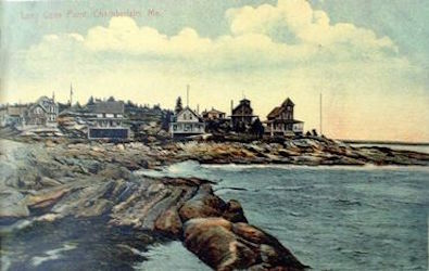 1910 Post Card of Long Cove Point, Chamberlain Maine