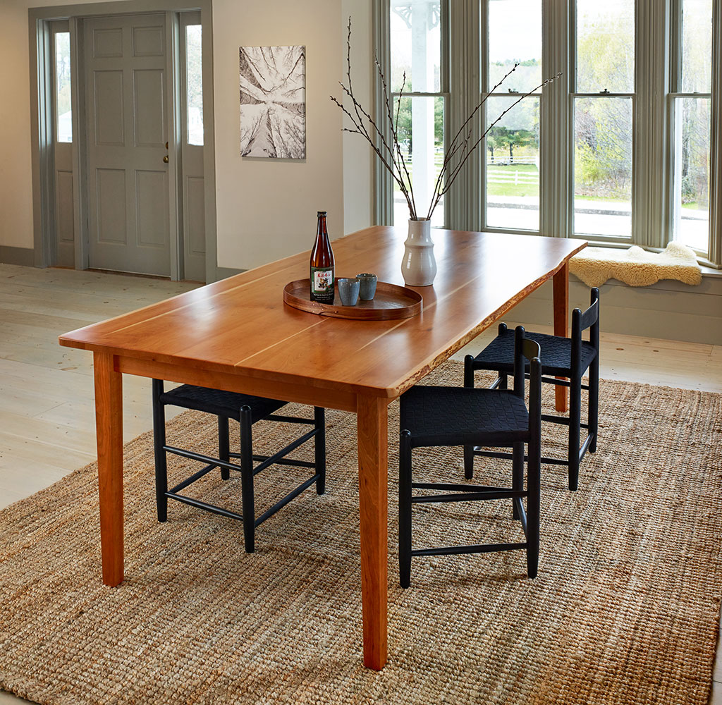 Acadia Live Edge Dining Table