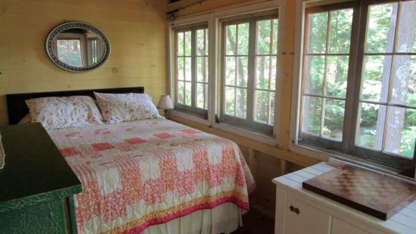 Sedgwick lake home bedroom