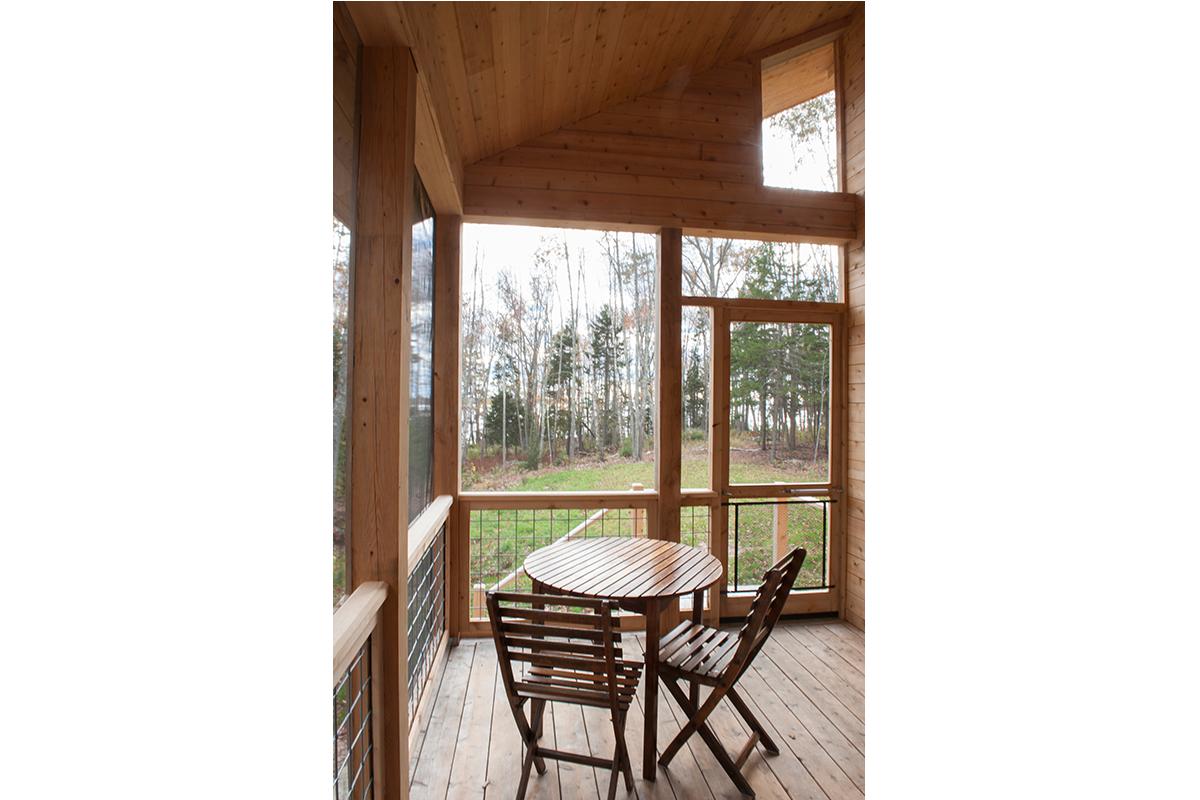 Prefab home, custom cabin, Harpswell, Maine
