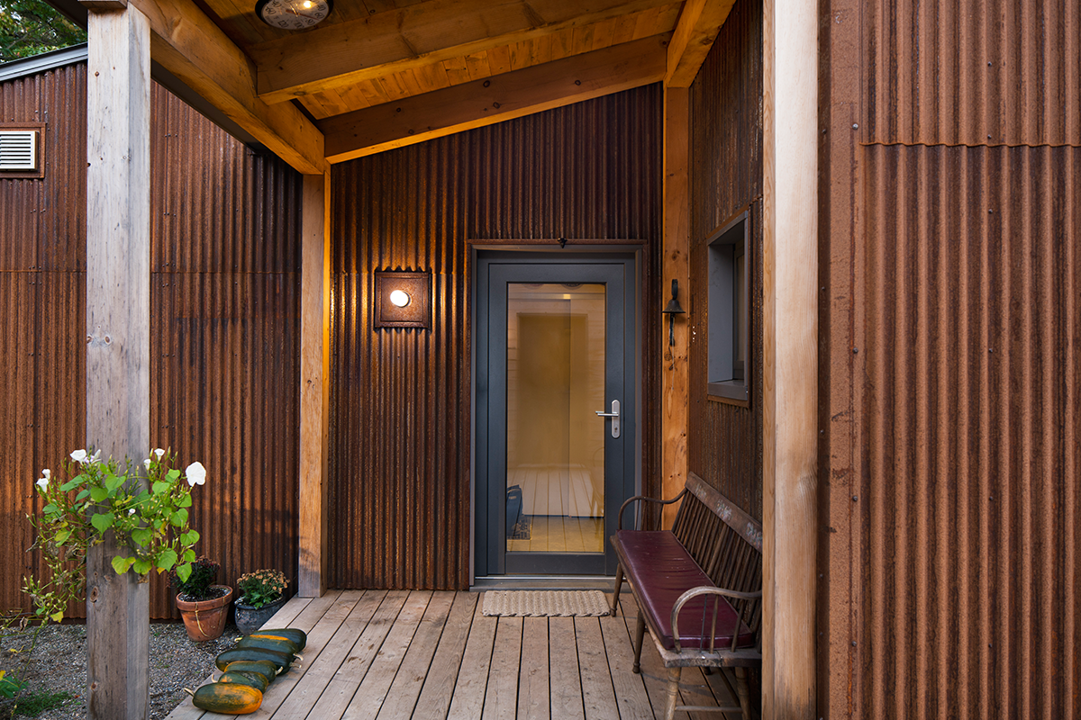 Maine prefab house, GO Logic, Passive Pastoral, Monroe, Maine