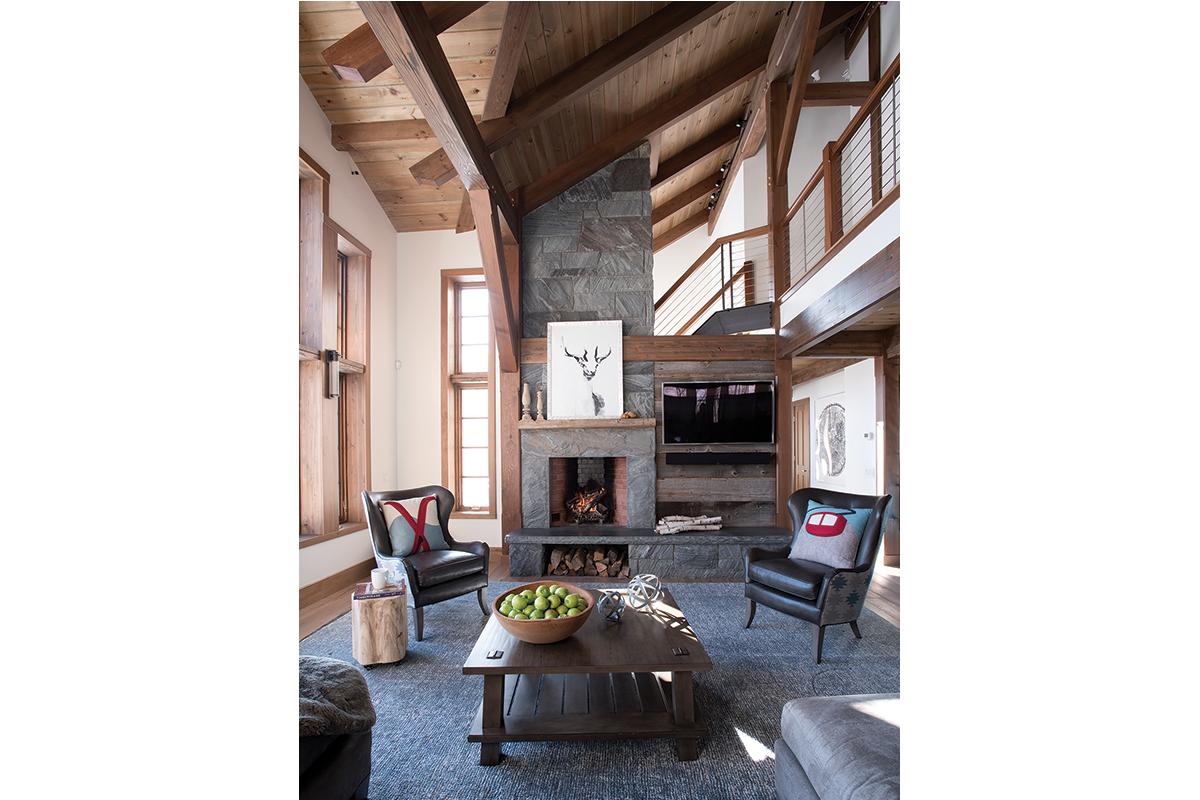 Skiers' Retreat, prefab home, Sunday River, Newry, Maine