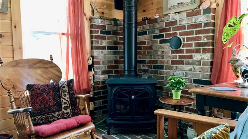 Pembroke cottage woodstove