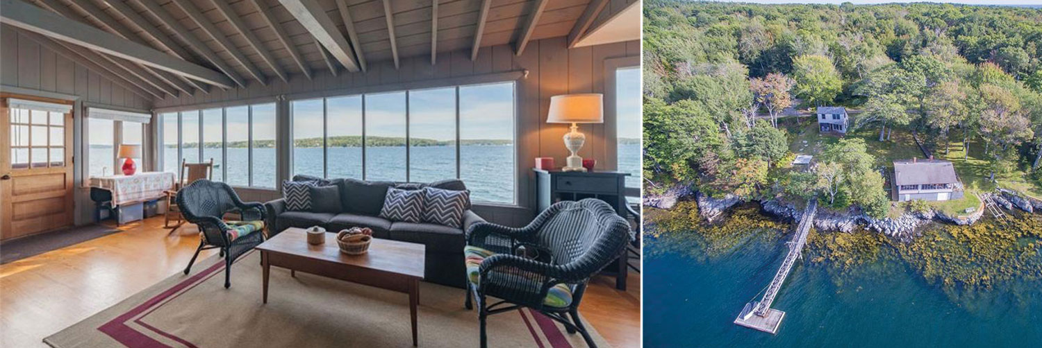 Boothbay, Maine cottages for sale