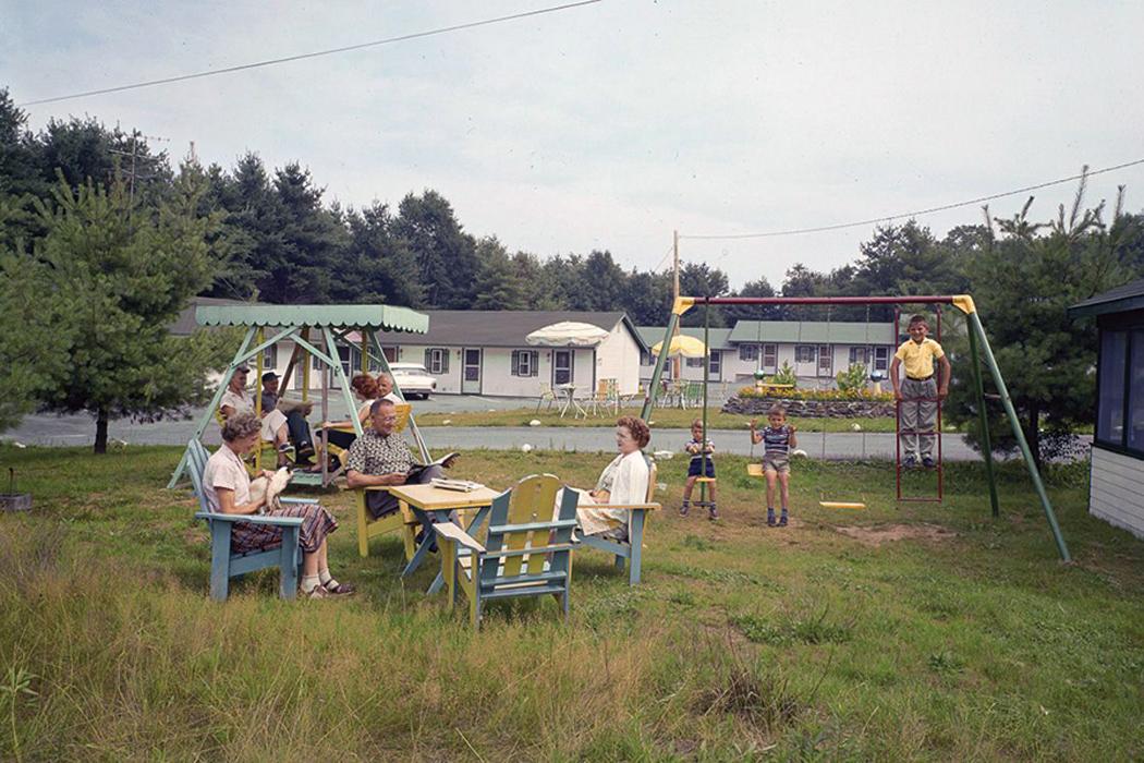 The now-defunct Riverside Motel in Augusta.