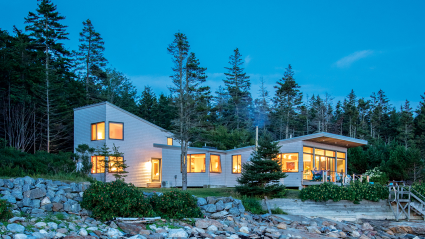 Pemaquid Point cottage