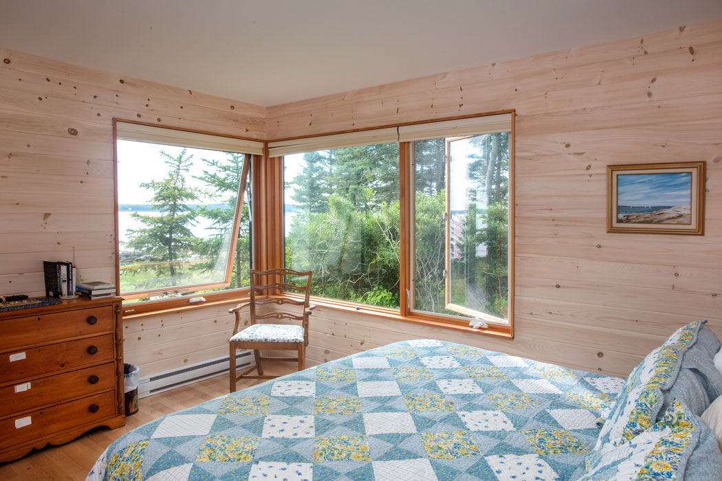Pemaquid cottage bedroom