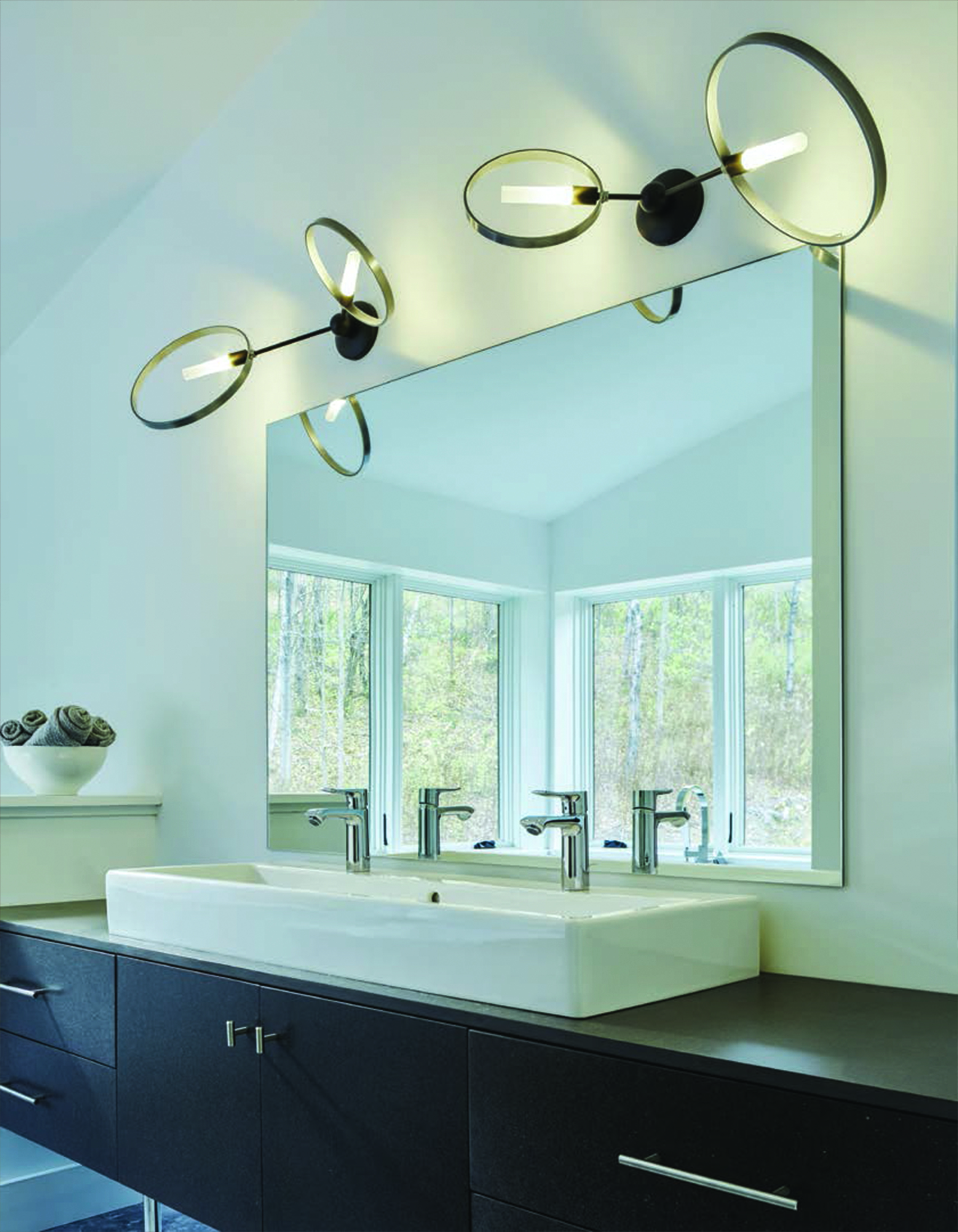 Hubbardton Forge Celesse Sconces Fogg Lighting