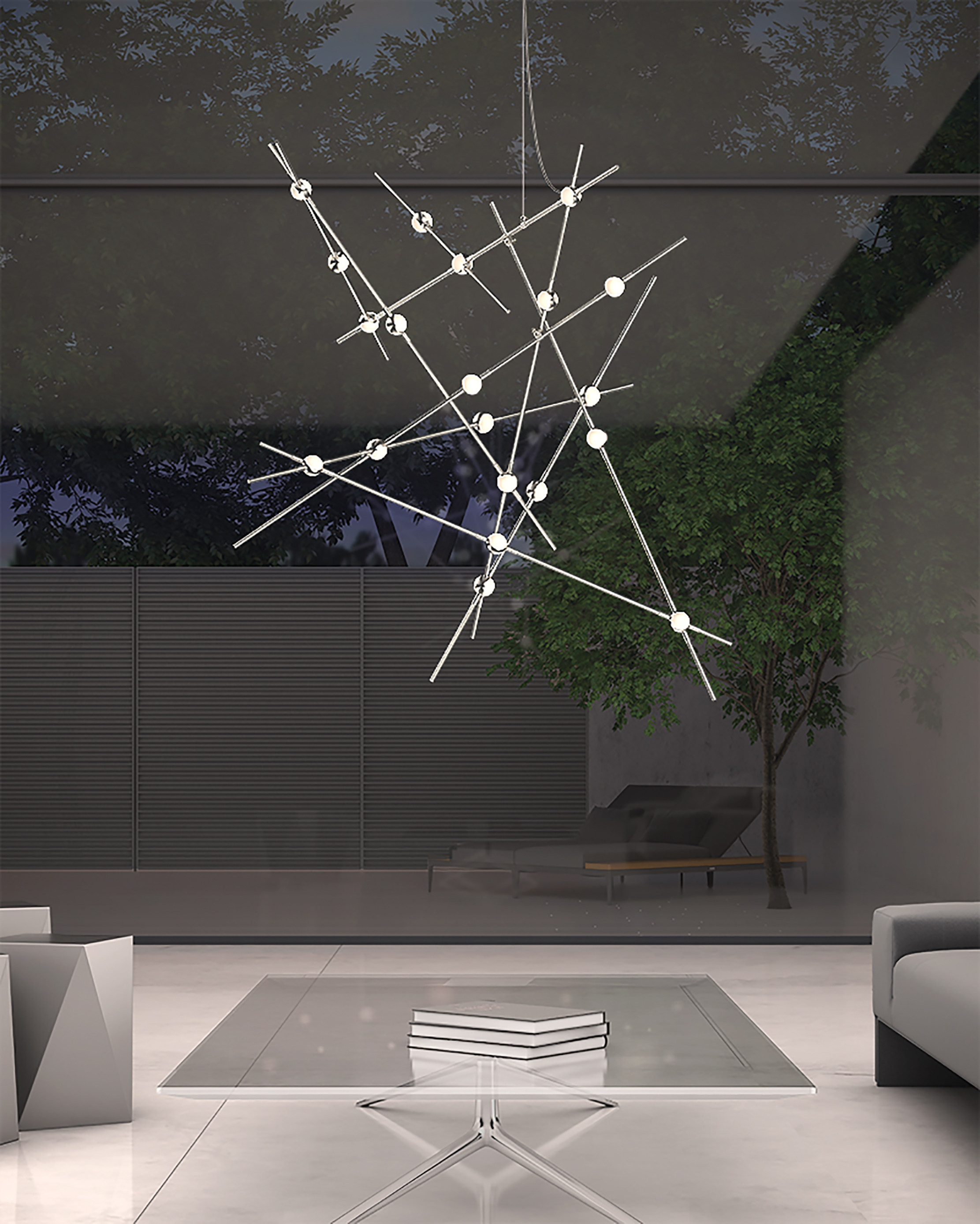 Sonneman Light Constellation Chandelier Fogg Lighting
