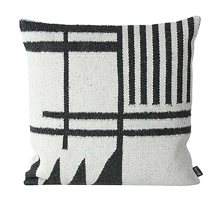 Ferm Living's wool Kelim Cushion