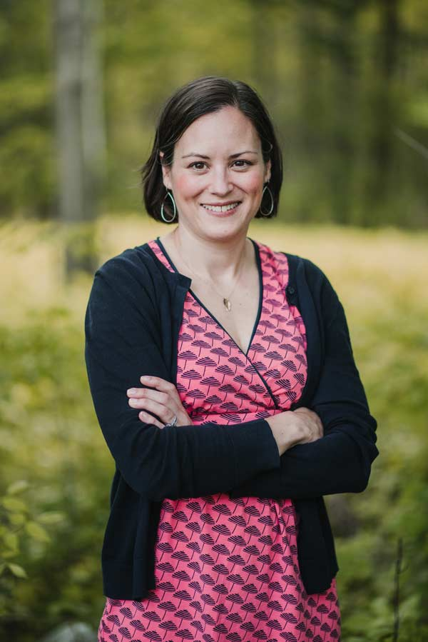 Sarah Stebbins, editor of Maine Homes by Down East