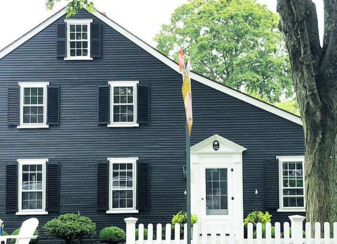 historic Kennebunkport saltbox home
