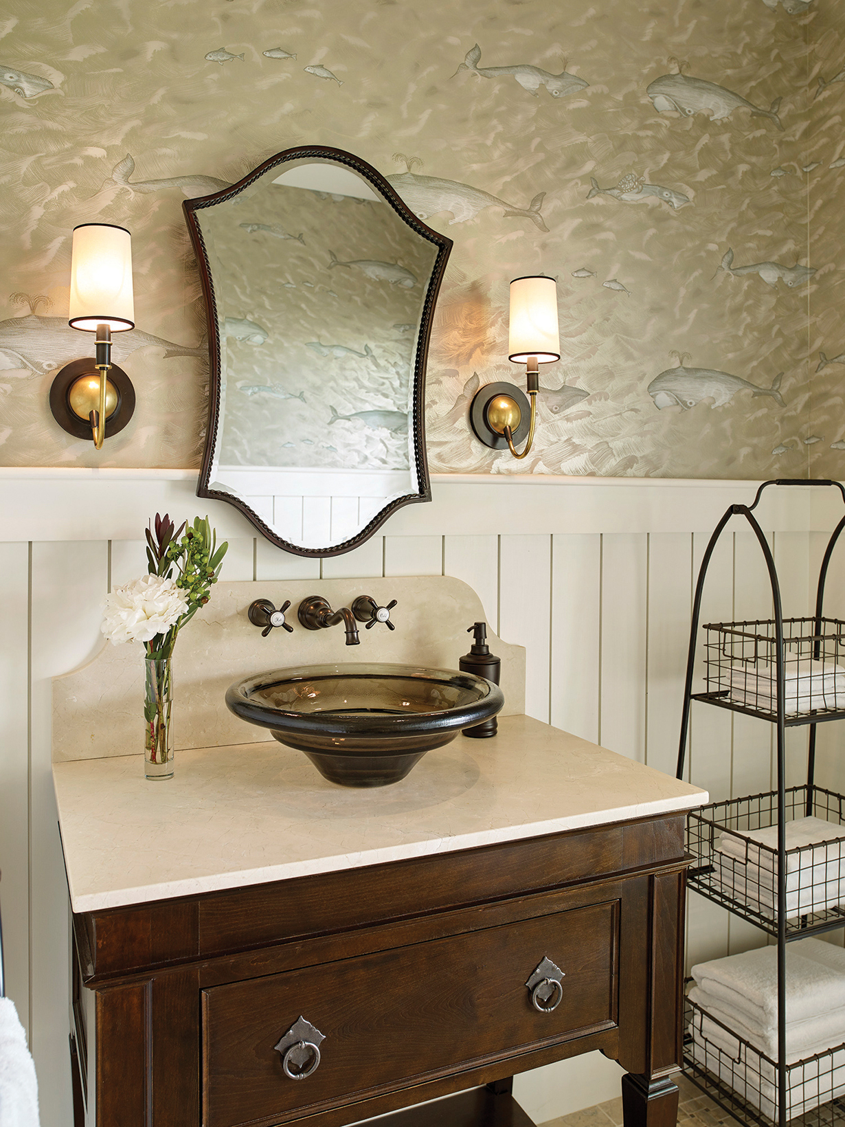 Knickerbocker Group Town Landing bathroom