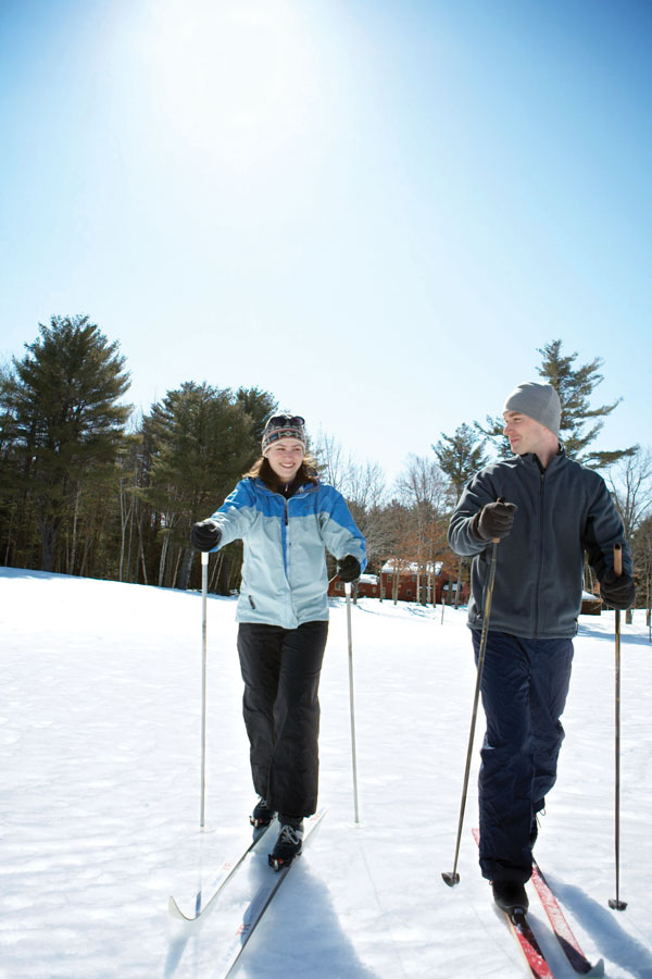 cross-country skiiing in Maine