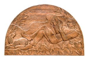 Irena Baruch Wiley carving