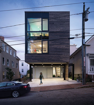 GO Logic modern townhouse