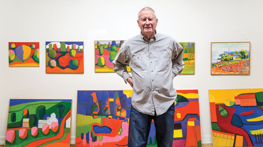 Jan ter Weele and his paintings