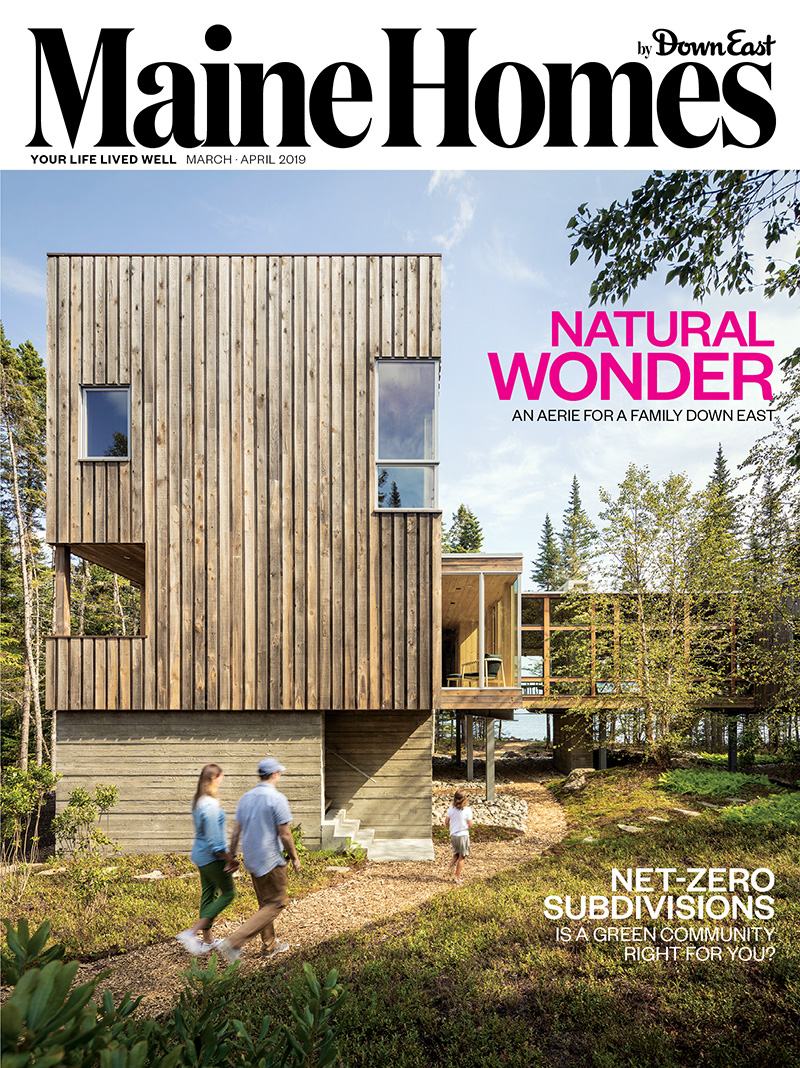 Maine Homes March/April Cover