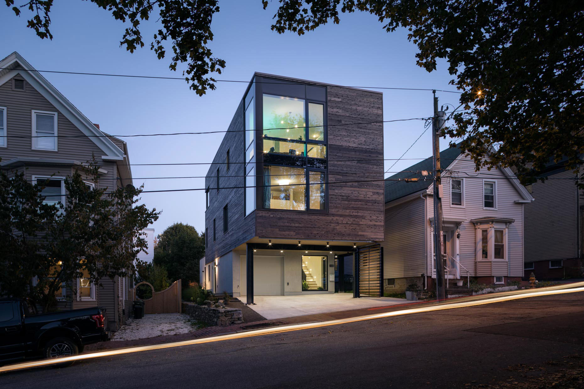 Boxed In(fill): Quebec St. Residence, Portland