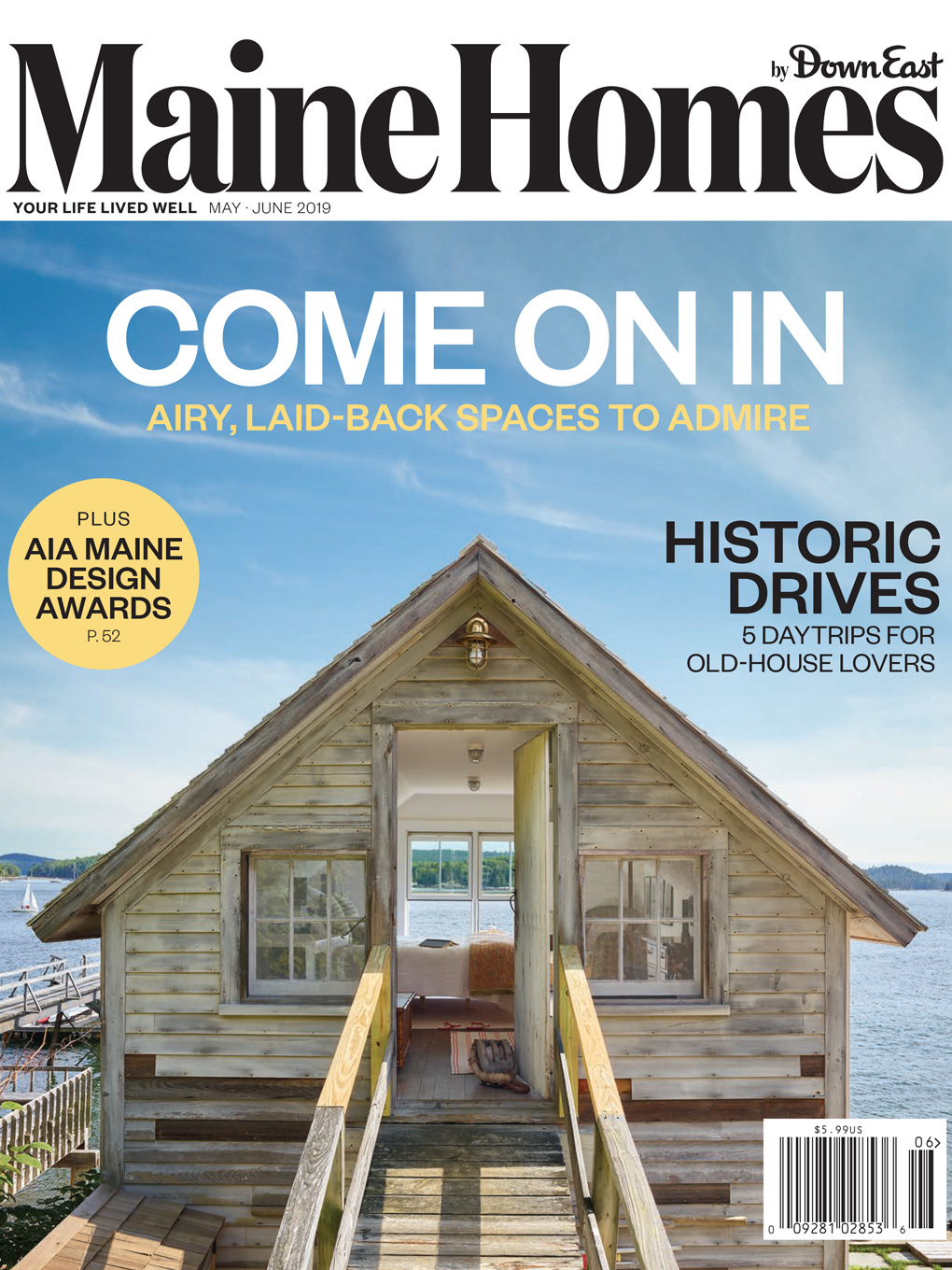 May/June 2019 issue of Maine Homes by Down East