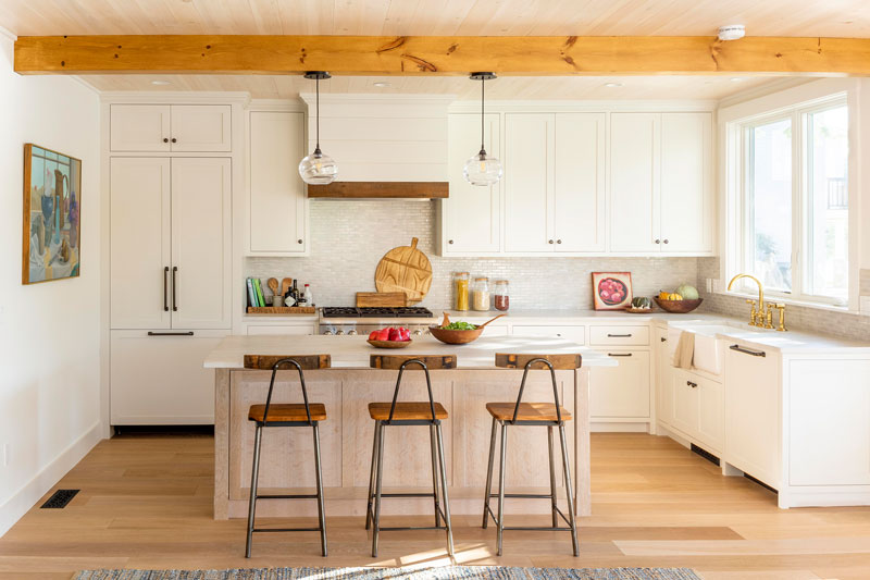 clean and comfortable kitchen