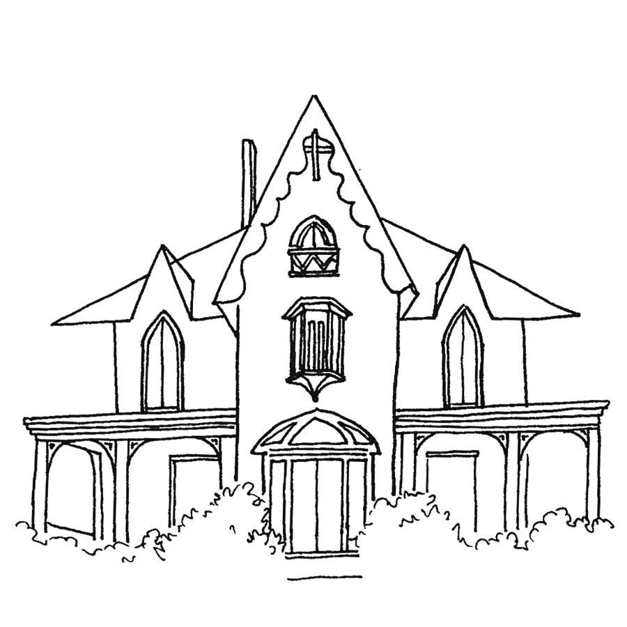 Gothic Revival style home