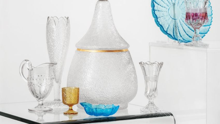 Portland Glass Company glassware