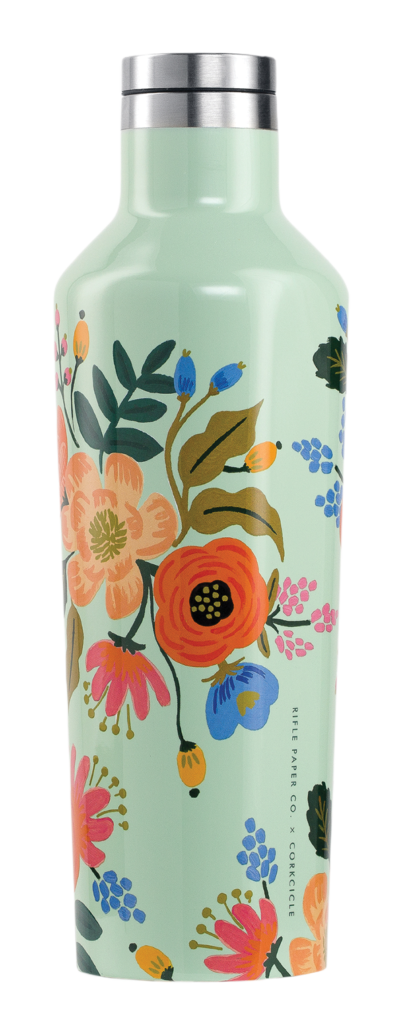 Rifle Paper Co.'s Corkcicle Lively Floral Canteen