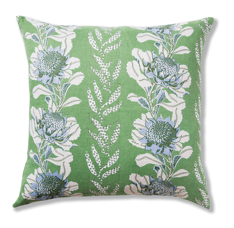 Imperial Waratah Forest pillow cover