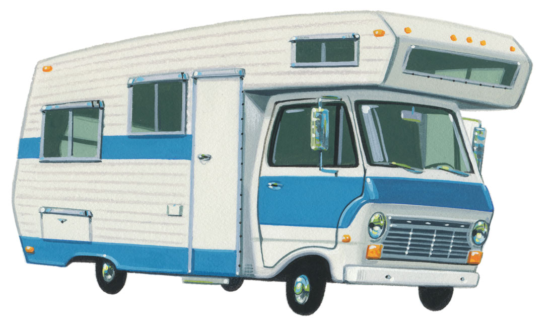 large motor home