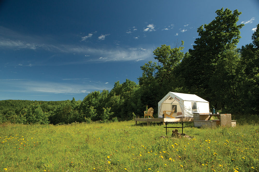 glamping in Maine, Maine State Parks