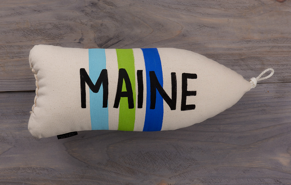 Maine Buoy Pillow
