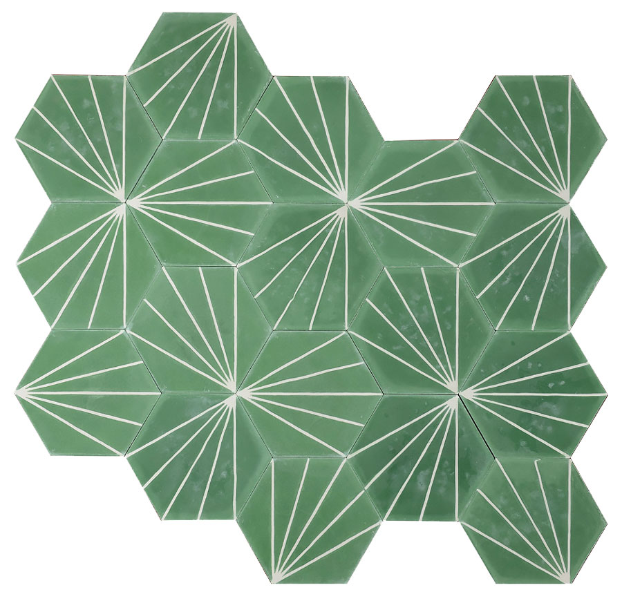 patterned tile, marrakech cement tile