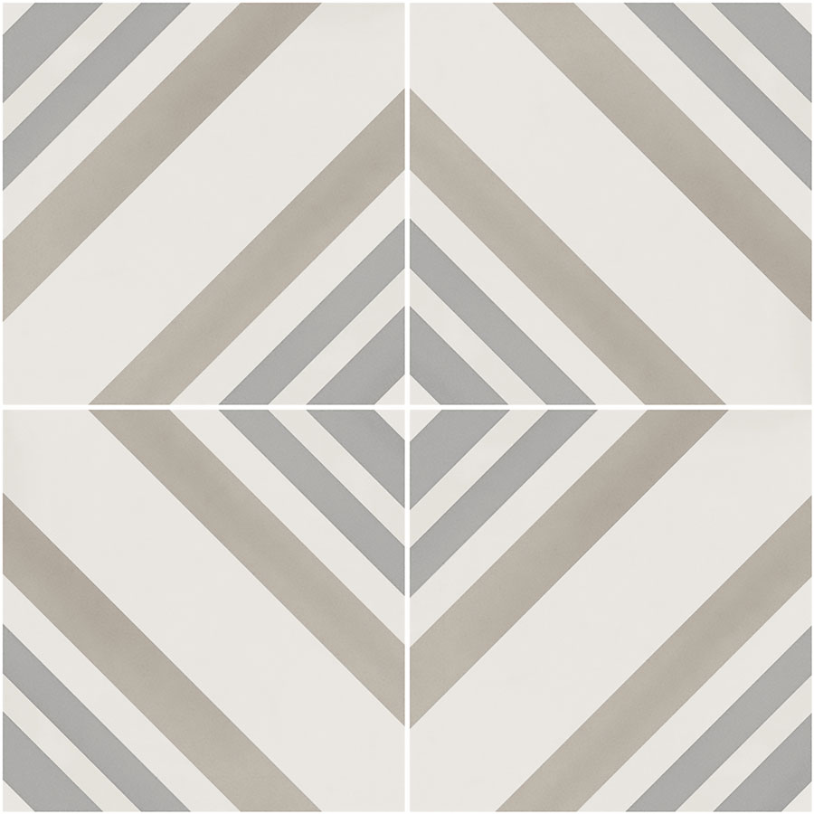 patterned tile, geometric porcelain tile
